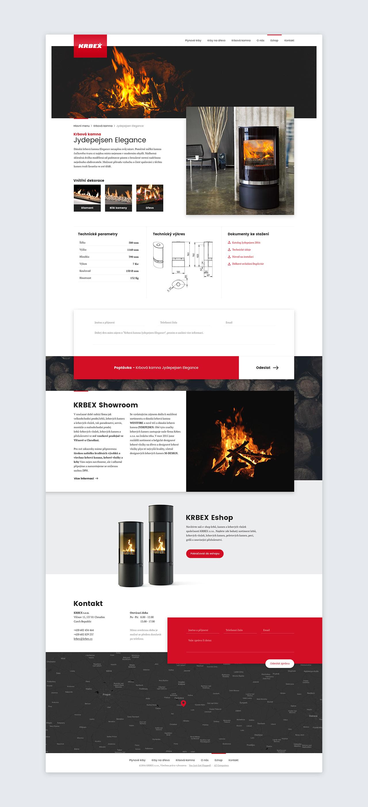 Krbex website